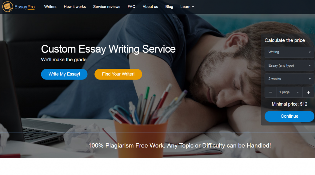 professional essay services reviews from experts review of essaypro com acircmiddot essay service